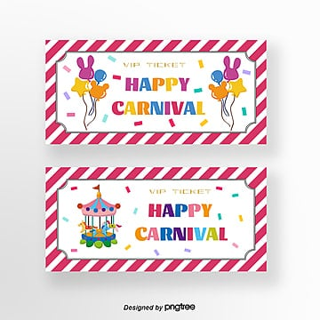 Merry Go Round Templates, 6 Design Templates for Free Download