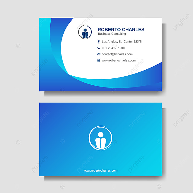 modern business card layout background template Template for Free