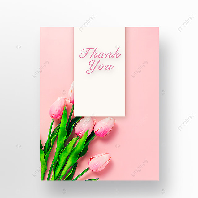Simple warm Festival thank you card template Template for Free