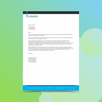 Letterhead Design Templates Png, Vectors, PSD, and Clipart for Free