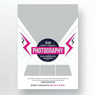 Photography Flyer Templates, 14 Design Templates for Free Download