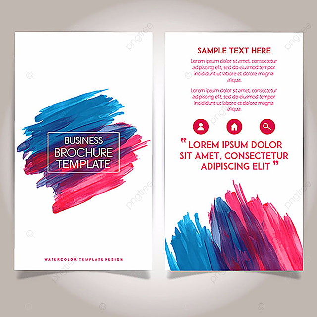Brochure Template Png, Vectors, PSD, and Clipart for Free Download - sample business brochure