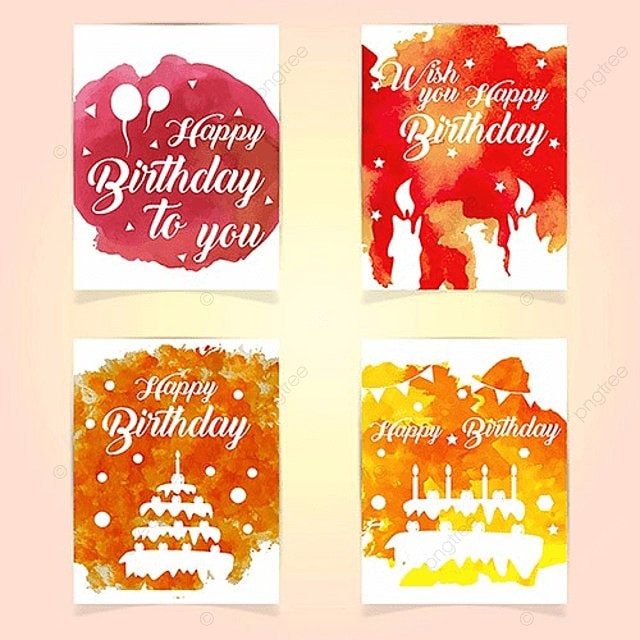 happy birthday cards Template for Free Download on Pngtree