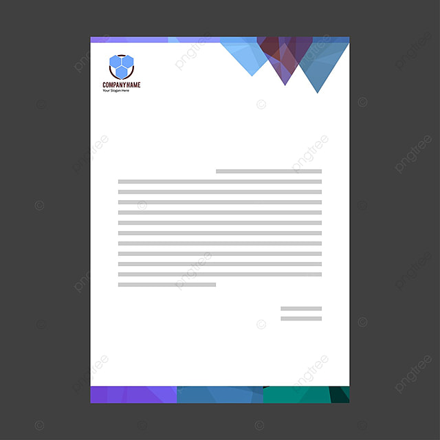 business letterhead Template for Free Download on Pngtree