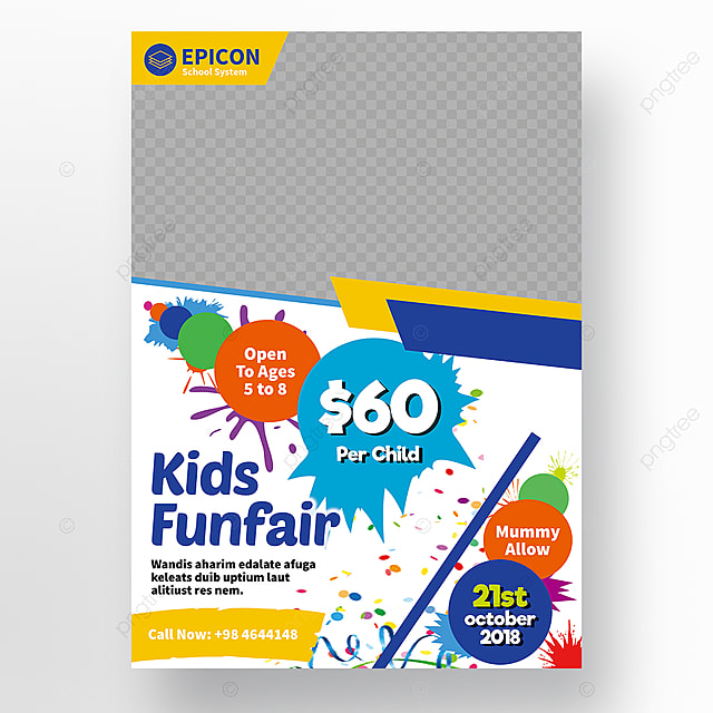 school flyer Template for Free Download on Pngtree - free school flyer template