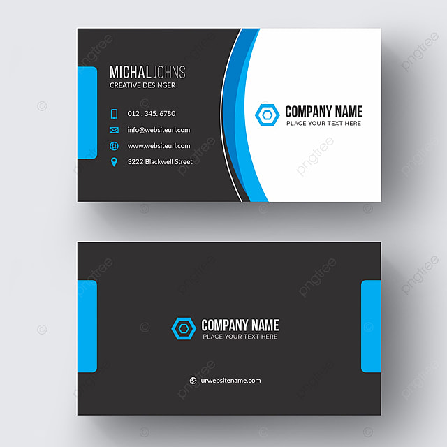 creative business card design Template for Free Download on Pngtree - Buisness Card Template