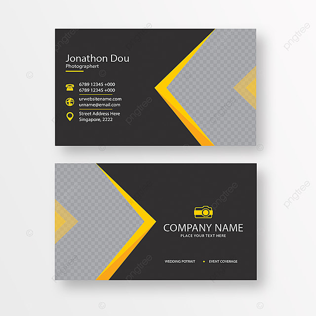 photographer business card Template for Free Download on Pngtree