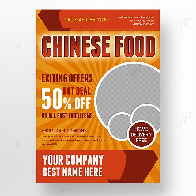 food flyer Template for Free Download on Pngtree - food flyer template