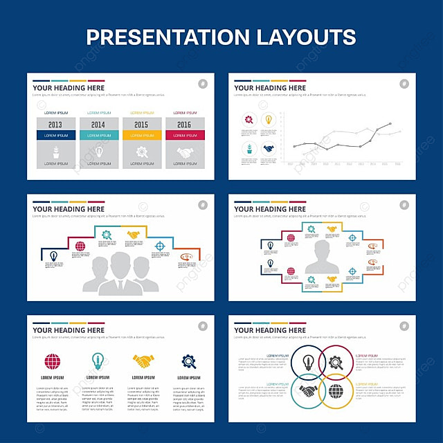 presentation template blue theme Template for Free Download on Pngtree - presentation template