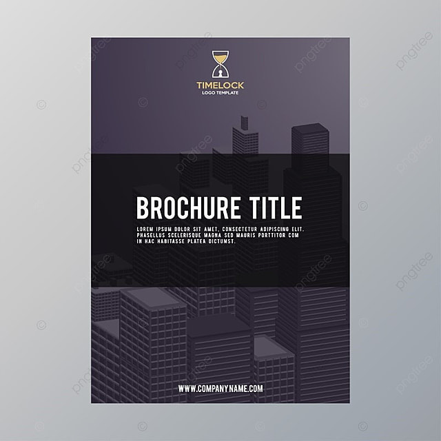 brochure title Template for Free Download on Pngtree