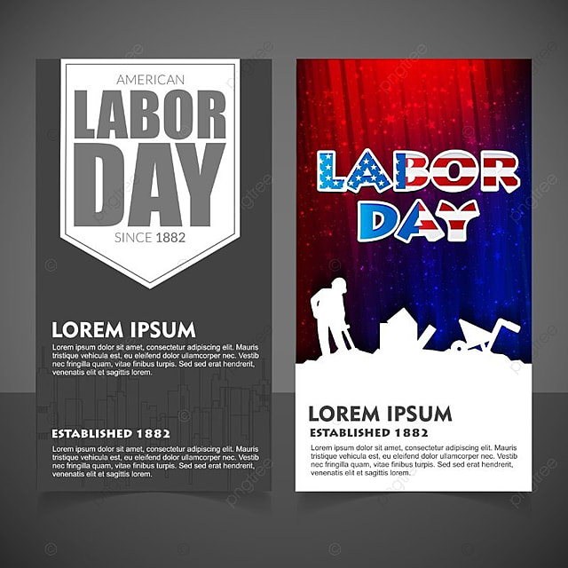 Labour day brochure vector Template for Free Download on Pngtree - labour day flyer template
