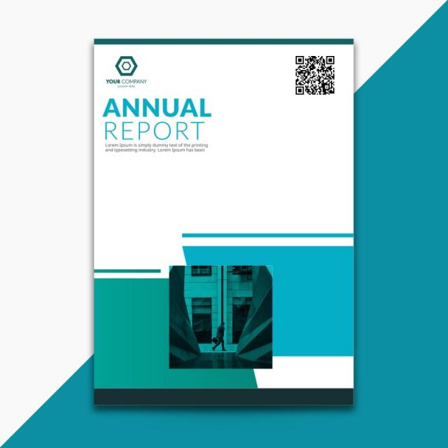 a4 annual report cover Template for Free Download on Pngtree