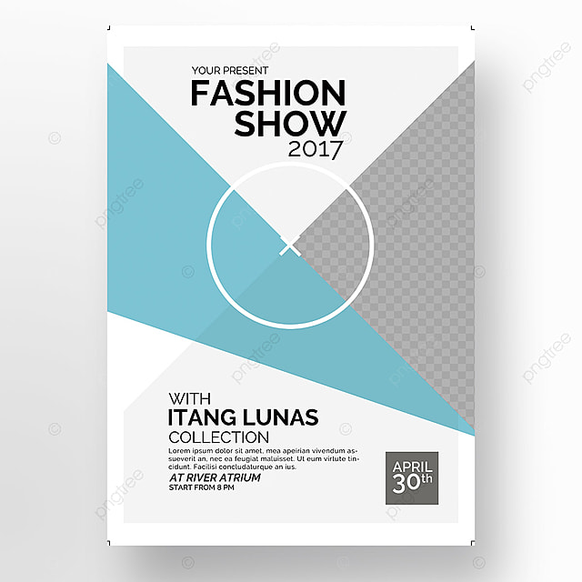 Fashion Show Template for Free Download on Pngtree