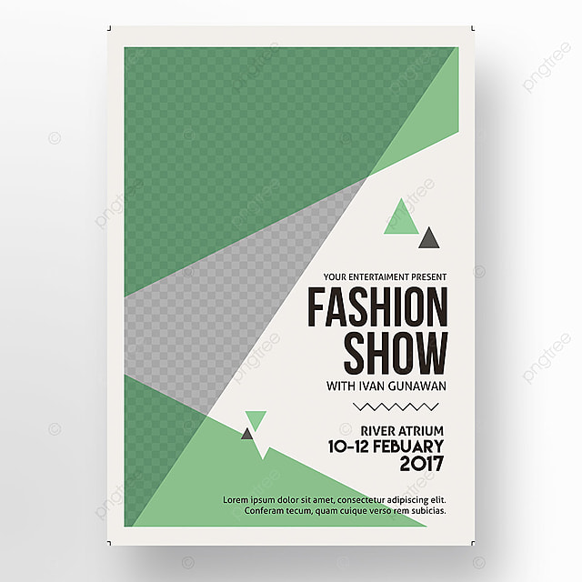 Fashion Show poster Template for Free Download on Pngtree