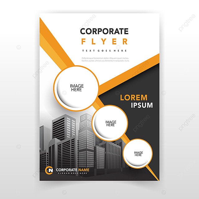 yellow cover annual report template Template for Free Download on - annual report template
