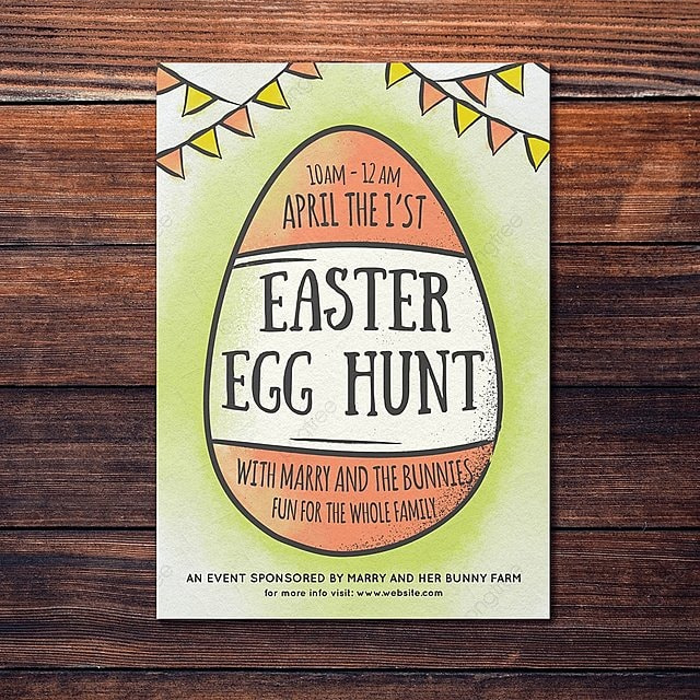 Easter Flyer Template Template for Free Download on Pngtree - easter flyer template
