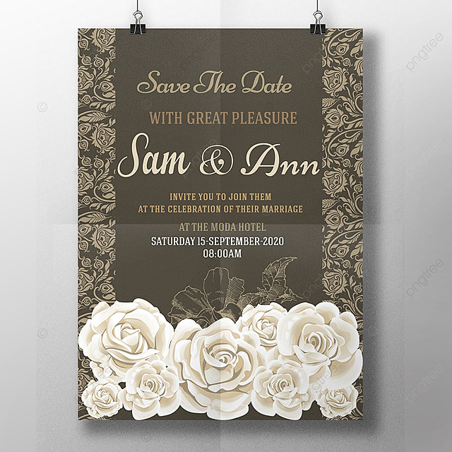 royal wedding card Template for Free Download on Pngtree - wedding card template