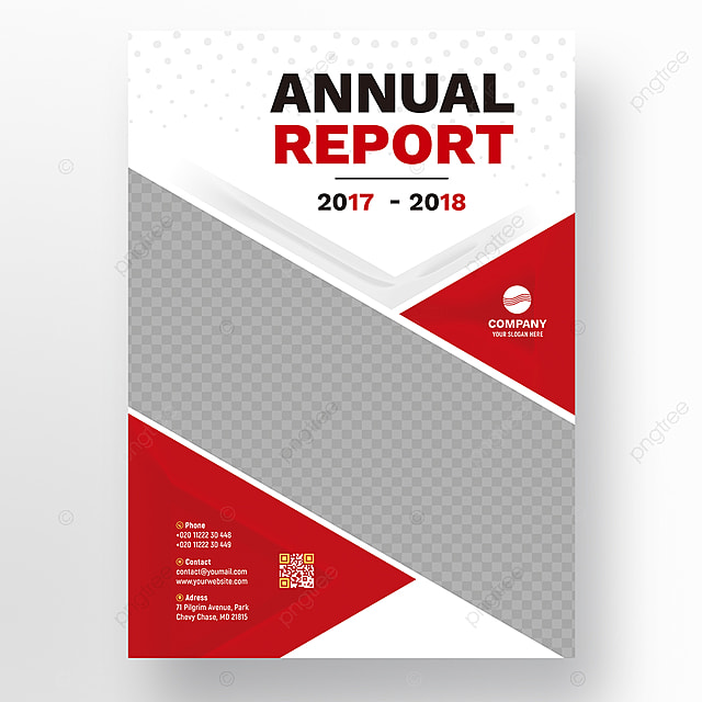 Red wavy annual report template Template for Free Download on Pngtree - free annual report templates