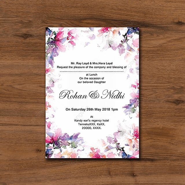 Wedding card and Invitation Template for Free Download on Pngtree