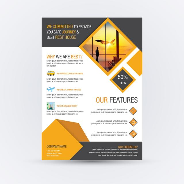 business flyer design Template for Free Download on Pngtree