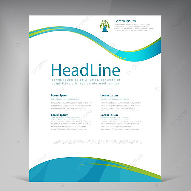 Vector abstract brochure design leaflet Template for Free Download - leaflet template