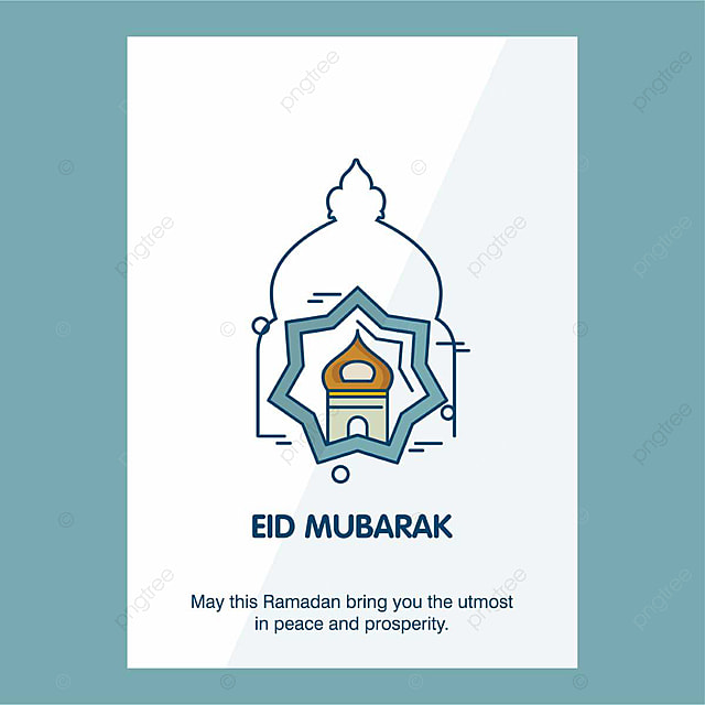 Eid Mubarak Template for Free Download on Pngtree