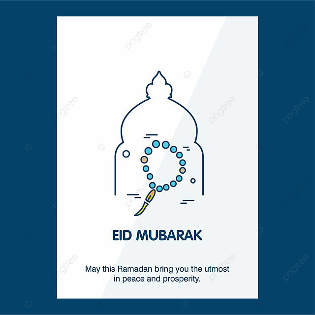 Eid Mubarak card Template for Free Download on Pngtree