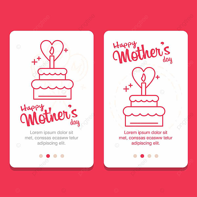 Happy Mother\u0027s Day card Template for Free Download on Pngtree