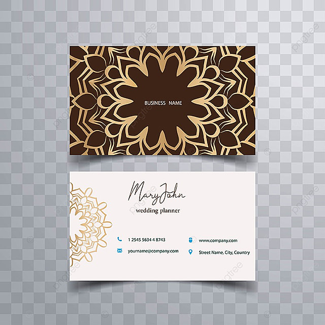 Beautiful business card Template for Free Download on Pngtree