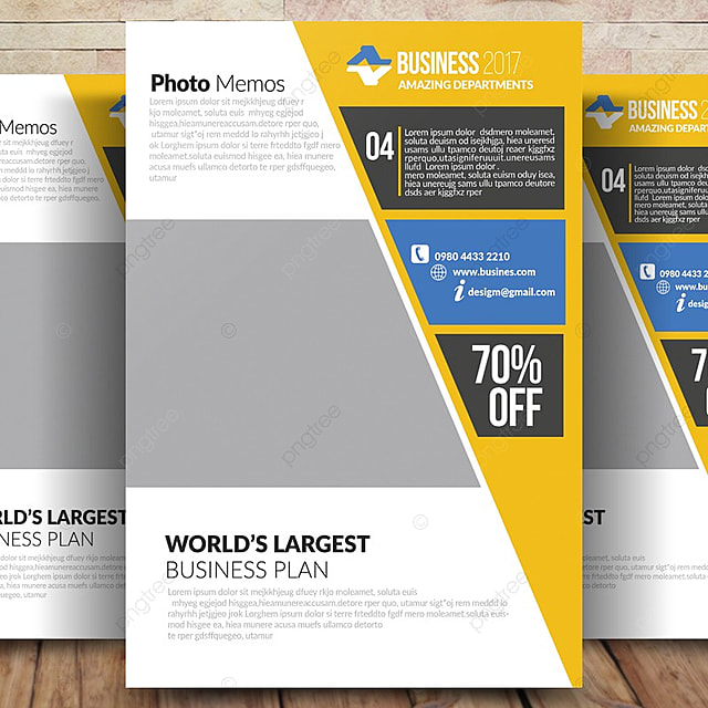 Business Advertisement Flyer Template for Free Download on Pngtree