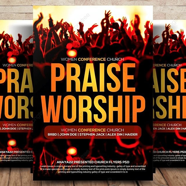 Church Flyer Template for Free Download on Pngtree