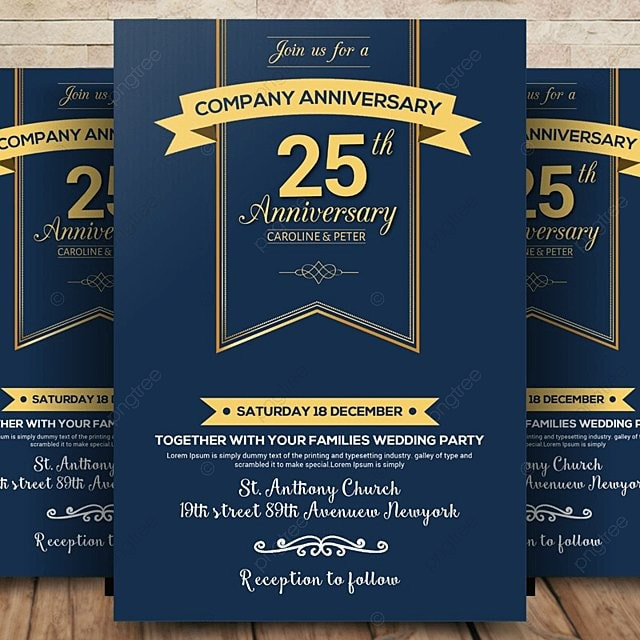 Company Anniversary Flyer Template for Free Download on Pngtree