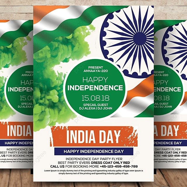 Independence Day - Flyer Template for Free Download on Pngtree