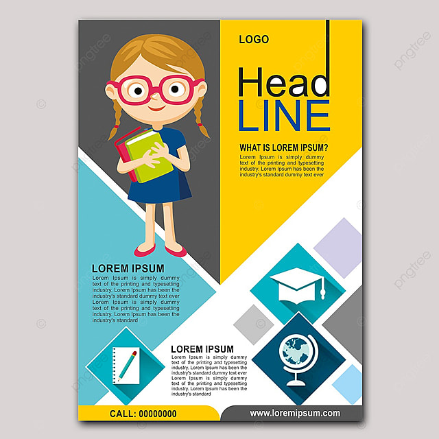 Education Flyer 1 Template for Free Download on Pngtree