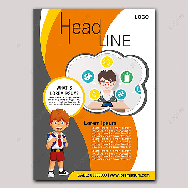 Education Flyer 4 Template for Free Download on Pngtree
