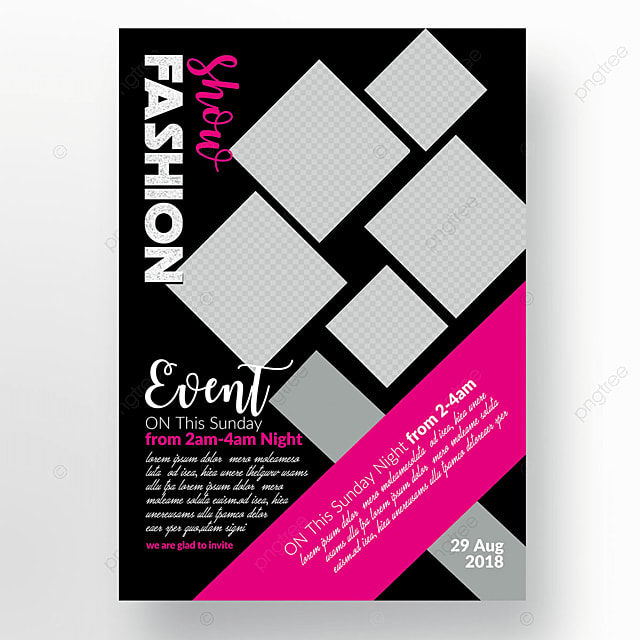 Fashion Psd Flyer Template Template for Free Download on Pngtree