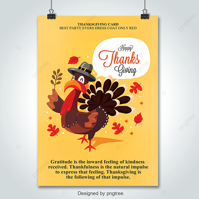 Thanksgiving Flyer Template for Free Download on Pngtree