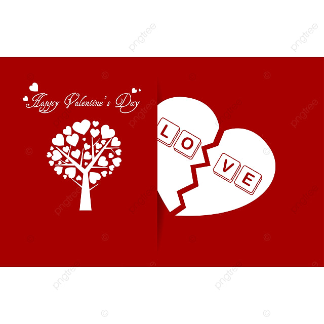 Happy Valentines Day card love romantic background Template for
