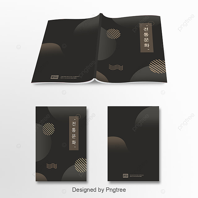South Korean Traditional Colour Matching Black Gold Traditional