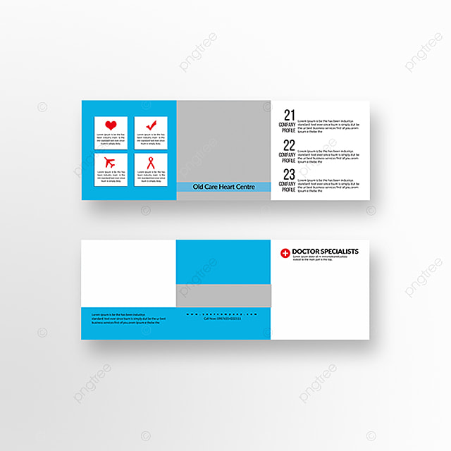 Medical Trifold brochure templates Template for Free Download on