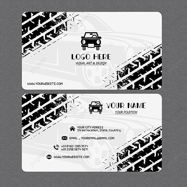 car business card Template for Free Download on Pngtree