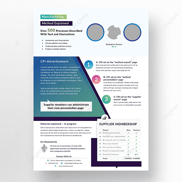 Multipurpose Marketing Flyer Template Template for Free Download on