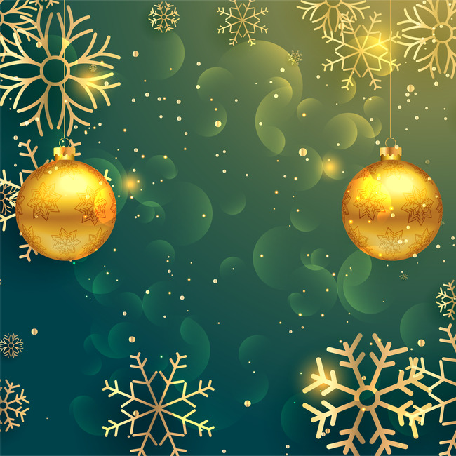 Fancy Christmas Poster Background Material, Christmas, Posters