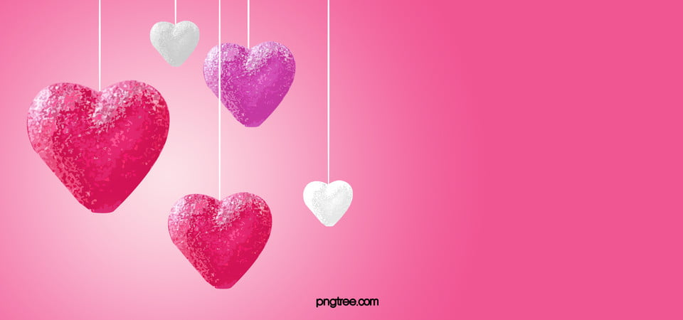 Card Wallpaper Hd Pink Love Background Pink Heart Decoration Background