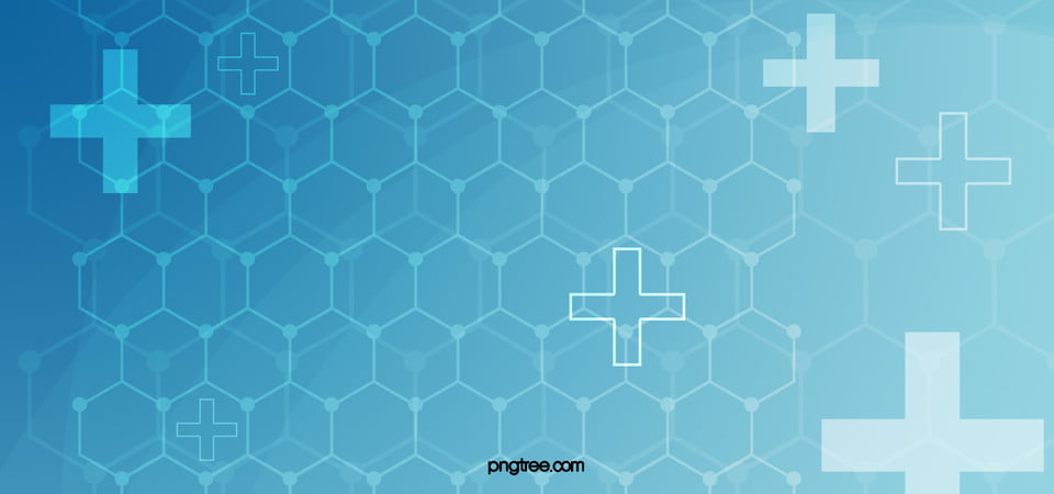 Blue Medical Background Geometry, Basic, Chain, Poster Banner
