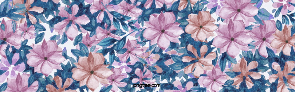 Flowers Background, Purple, Watercolor, Flower Background Image for