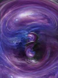 Beautiful Space Cosmic Background, Beautiful, Outer Space ...