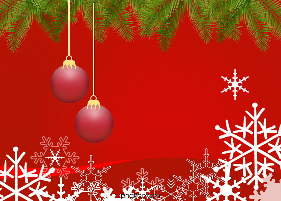 Christmas Background, Christmas, Festival, Red Background Image for - christmas background image