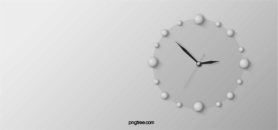 Electric Blue Wallpaper Hd Simple Clock Background Clock Time Education Background