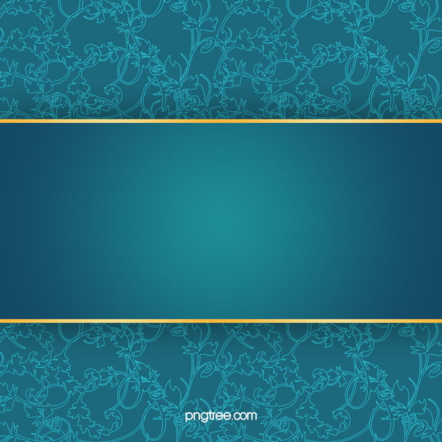 Business Invitation Card Blue Pattern Background Material, Blue